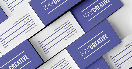 Business card design image by Kay Creative